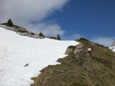 photo montagne alpes randonnée Refuge Tête de Bostan