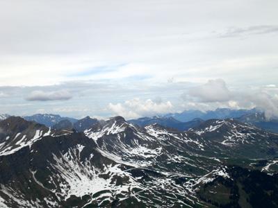 photo montagne alpes randonnée Refuge Tête de Bostan sommet Suisse