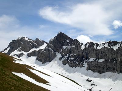 photo montagne alpes randonnée Refuge Tête de Bostan sommet