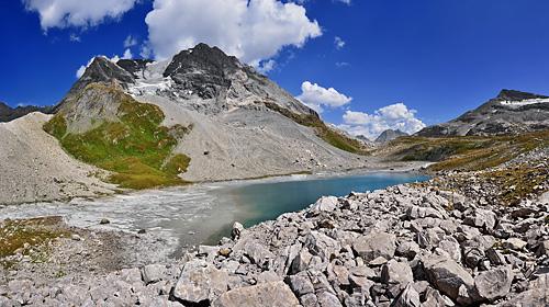 photo montagne alpes randonnée tour des glaciers vanoise TGV panorama lac long grande casse