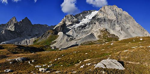 photo montagne alpes randonnée tour des glaciers vanoise TGV refuge col de la vanoise felix faure grande casse