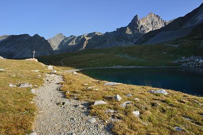 photo montagne alpes randonnée tour des glaciers vanoise TGV col de la vanoise croix