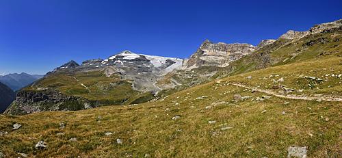 photo montagne alpes randonnée tour des glaciers vanoise TGV glaciers panorama