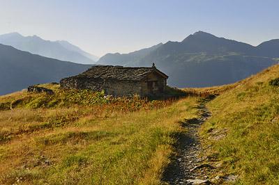 photo montagne alpes randonnée tour des glaciers vanoise TGV chapelle