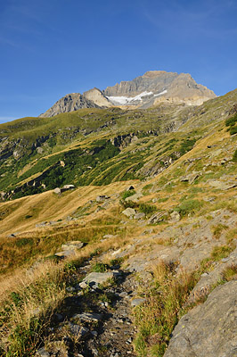photo montagne alpes randonnée tour des glaciers vanoise TGV dent parrachee