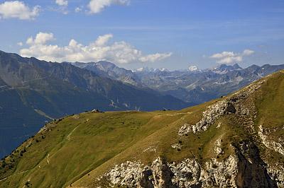 photo montagne alpes randonnée tour des glaciers vanoise TGV massif ecrins