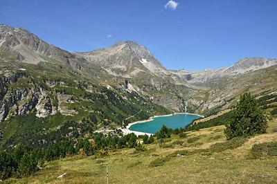 photo montagne alpes randonnée tour des glaciers vanoise TGV aussois lac