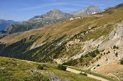 photo montagne alpes randonnée tour des glaciers vanoise TGV aussois
