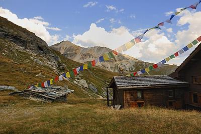 photo montagne alpes randonnée tour des glaciers vanoise TGV refuge dent parrachee
