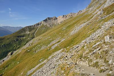 photo montagne alpes randonnée tour des glaciers vanoise TGV sentier