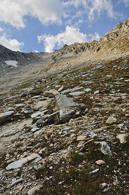 photo montagne alpes randonnée tour des glaciers vanoise TGV col aussois descente