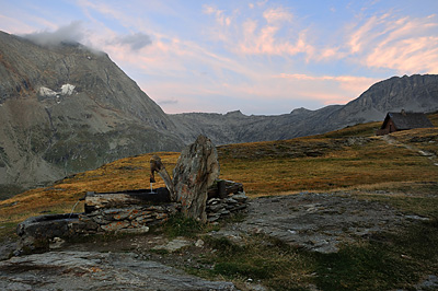 photo montagne alpes randonnée tour des glaciers vanoise TGV lever soleil aussois