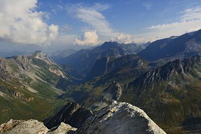 photo montagne alpes randonnée tour des glaciers vanoise TGV pointe observatoire glaciers