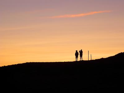 photo montagne alpes randonnée tour du mont blanc tmb kora coucher soleil col de la croix du bonhomme