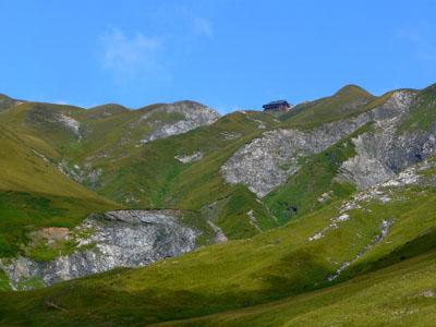 photo montagne alpes randonnée tour du mont blanc tmb kora refuge de la Croix du Bonhomme