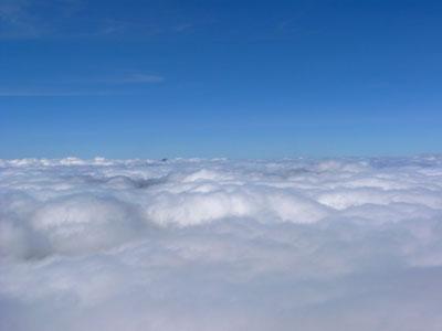 photo montagne alpes randonnée tour du mont blanc tmb kora Tête Nord des Fours mer de nuages