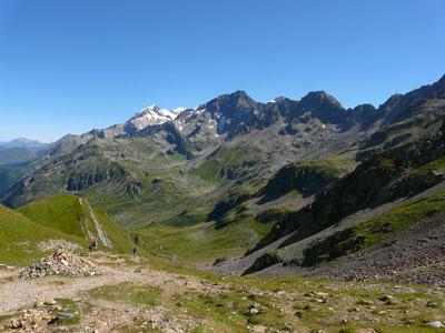 photo montagne alpes randonnée tour du mont blanc tmb kora col du bonhomme