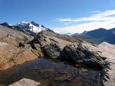 photo montagne alpes randonnée tour du mont blanc tmb kora col des fours
