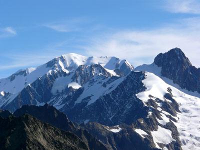 photo montagne alpes randonnée tour du mont blanc tmb kora Tête Nord des Fours aiguille des glaciers