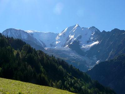 photo montagne alpes randonnée tour du mont blanc tmb kora aiguille du goûter bionnassay