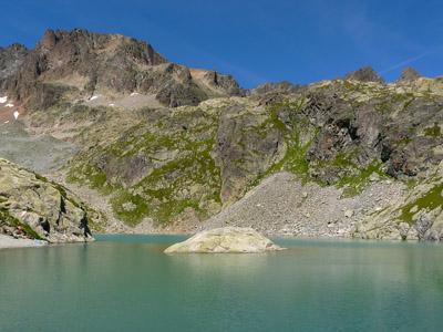 photo montagne alpes randonnée tour du mont blanc tmb kora lac blanc