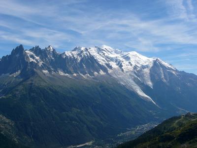 photo montagne alpes randonnée tour du mont blanc tmb kora lac blanc massif
