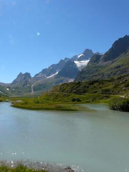 photo montagne alpes randonnée tour du mont blanc tmb kora glacier lac combal