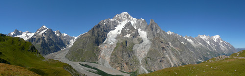 photo montagne alpes randonnée tour du mont blanc tmb kora italie panorama