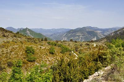 photo montagne alpes randonnée tour baronnies col milmandre