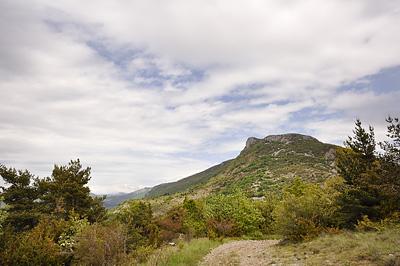 photo montagne alpes randonnée tour baronnies font combran