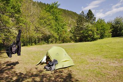 photo montagne alpes randonnée tour baronnies gravouse camping