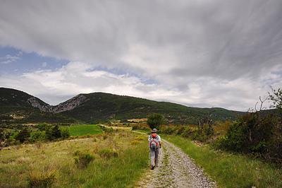 photo montagne alpes randonnée tour baronnies saint auban col rocher perce