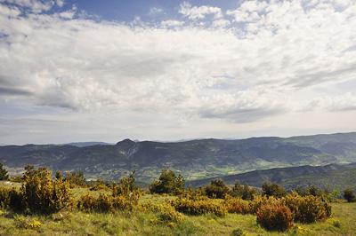 photo montagne alpes randonnée tour baronnies col tunes
