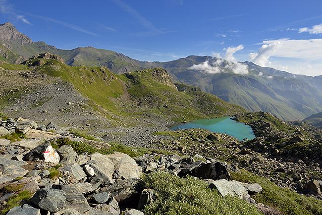 photo montagne alpes randonnée rando queyras tour viso