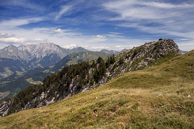 photo montagne alpes bornes aravis tournette bouton