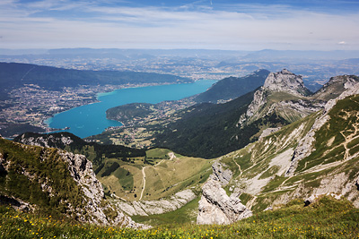 photo montagne alpes bornes aravis tournette lac annecy