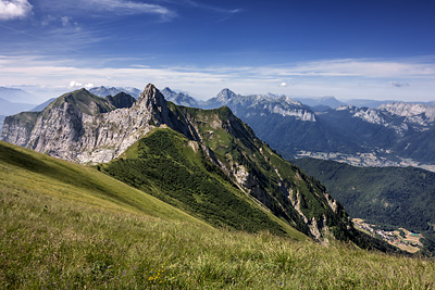 photo montagne alpes bornes aravis tournette pointe beccaz