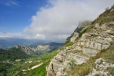 photo montagne alpes diois baronnies trois becs pas siara