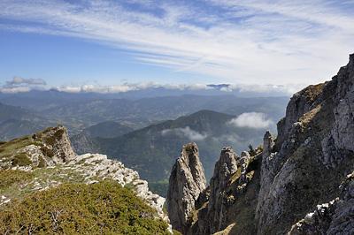 photo montagne alpes diois baronnies trois becs rochers