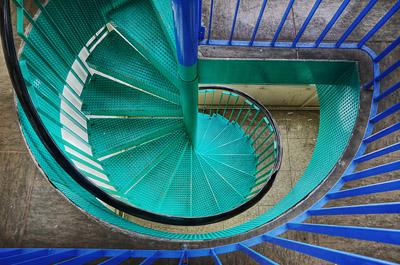 photo urbex sanatorium hôpital hôpitaux escalier