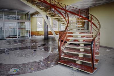 photo urbex sanatorium hôpital hôpitaux hall
