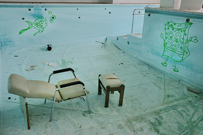 photo urbex sanatorium hôpital hôpitaux piscine