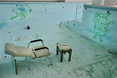 photo urbex sanatorium hôpital hôpitaux piscine