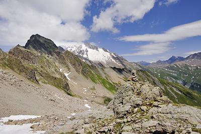 photo montagne alpes beaufortain mont blanc randonnée vallee glaciers tete nord fours