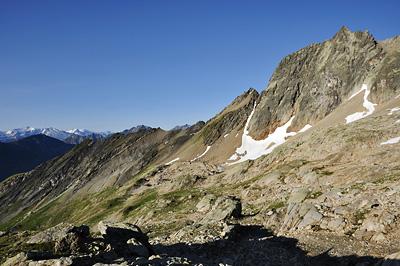 photo montagne alpes beaufortain mont blanc randonnée vallee glaciers enclave col bouquetins