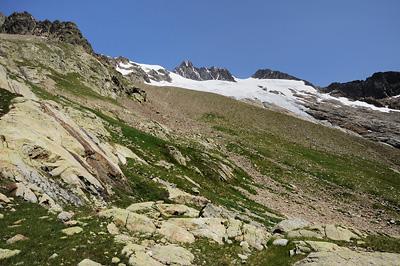 photo montagne alpes beaufortain mont blanc randonnée vallee glaciers