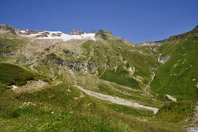 photo montagne alpes beaufortain mont blanc randonnée vallee glaciers col seigne frontiere italie france
