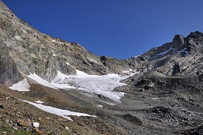 photo montagne alpes beaufortain mont blanc randonnée vallee glaciers lanchettes