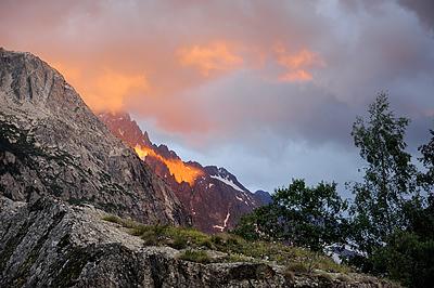 photo montagne alpes randonnée ecrins berarde