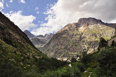 photo montagne alpes randonnée ecrins berarde vallon etages